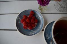 Tekoppen, en høstfavoritt Earthenware, Raspberry, Pottery, Fruit, House, Ideas, Food, Decor, Ceramica