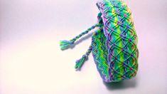 Handmade woven macrame friendship bracelets/thread bracelets/hippie bracelets/boho bracelets/macrame/wave/double wave/multicolour/variegated