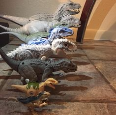 All Of The Jurassic World's Indominus Rex Toys!!! Models Made By Hardro.