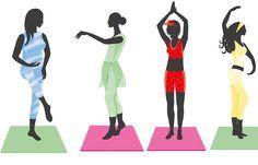 Die besten Fitness-Übungen für jeden Figurtyp - Breite Hüften, schmaler Oberkörper: Diese sehr weibliche Körperform ist typisch für die Birne-Frau. Ein bisschen mehr Bauch und schlanke Beine zeichnet die Apfel-Frau aus, die alles für die Rundungen der Birne-Dame geben würde...