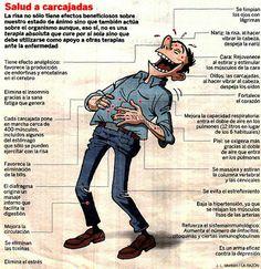 #Salud a carcajadas #risa #reir #bienestar