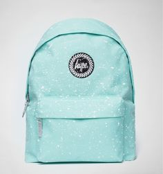 Hype Splat Backpack Mint Green-White
