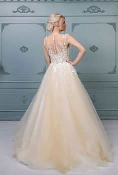 Rochie de mireasă A-line, colecția 2019 Dress Collection, Bespoke, Ready To Wear, Costumes, Formal Dresses, Unique, How To Wear, Style, Fashion