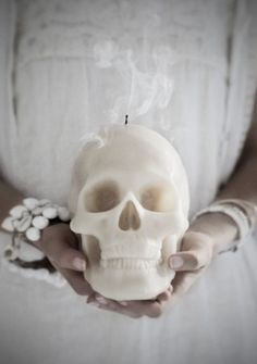 Skull Candle from Love Warriors