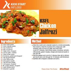 Instead of your usual curry over rice why not try this Indian chicken jalfrezi recipe?   For more delicious KSFL recipes keep following me on Social Media...