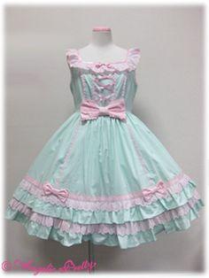 Angelic Pretty / Jumper Skirt / Sweets Dessert JSK