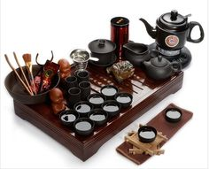 Tea culture is not only about drinking tea! Matcha Set, Japanese Tea Set, Tea Pot Set, Tea Sets, Sushi Set, Tea Culture, Tea Tray, Chinese Tea, Tea Service