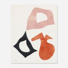 View Trois Formes by Jean Hans Arp on artnet. Browse upcoming and past auction lots by Jean Hans Arp. Art And Illustration, Inspiration Art, Art Inspo, Cavalier Bleu, Modern Art, Contemporary Art, Art Du Collage, Color Collage, Hans Arp