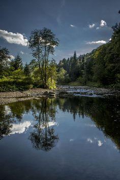 Calm river by Damian Duda / 500px (Poland)
