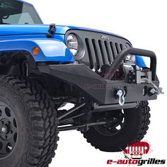 07-17 Jeep Wrangler JK Full Width Black Textured Front Bumper W/D-rings | eBay Motors, Parts & Accessories, Car & Truck Parts | eBay!