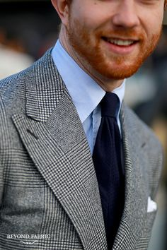 Details on Jake Grantham from The ArmouryPitti Uomo 89 - Day #2Ph: Beyond Fabric