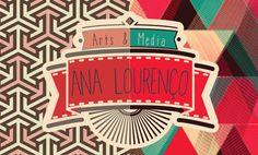 Infographic CV by Ana Lourenço, via Behance