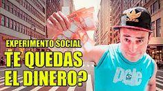 ¿Te quedarias con el dinero? | Experimento Social - La Vida Del Desvelado - YouTube