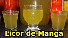 Homemade Liquor, Hurricane Glass, Dessert Recipes, Desserts, Mousse, Mango, Drinks, Tableware, Youtube