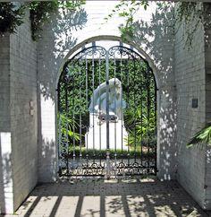 Love this iron gate!
