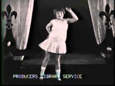 Black Bottom - Vintage Blues Dance - A long (period?) documentary reel teaching the dance steps
