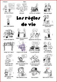 éducation civique leçons,traces écrites,CE1,CE2,instruction civique,régles vie