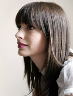 bangs with angled sides
