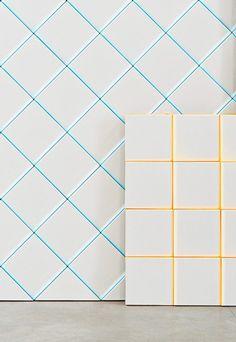 color edge tiles Scales / MUT design & Peronda: