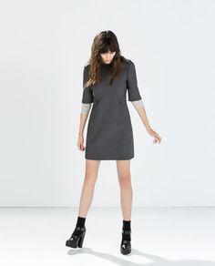 ZARA - 本周新品 - 翻盖口袋饰连身裙