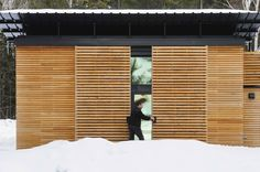 The E.D.G.E., a small prefab house by Revelations Architects/Builders