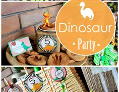 "Dinosaurs / Birthday ""Maciek Dinosaur Birthday Party""   Catch My Party"