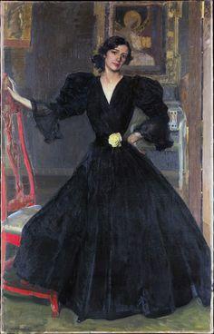 Spanish Painters, Spanish Artists, Arte Fashion, Look Fashion, Art Espagnole, Black Canvas Art, Madrid, Artist Canvas, Metropolitan Museum