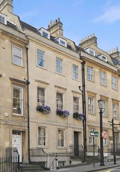 4 GAY STREET, BATH, SOMERSET     Another Georgian townhouse in Bath, this time very close to the famous Royal Crescent. Jane Austen and her family lived for a while at number 25 on the same street, and the Jane Austen museum is at number 40.