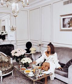 """107.3k Likes, 470 Comments - Camila Coelho (@camilacoelho) on Instagram: """"Mornings at @lemeuriceparis ✨ (always feels like home) #ParisianDays ------- Manhãs no…"""""""
