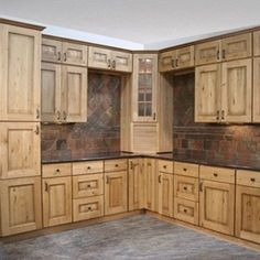 Rustic Kitchen Cabinets   Bing Images...PERFECT CABINETS! Exactly What I  Want
