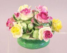 Stafforshire china flowers