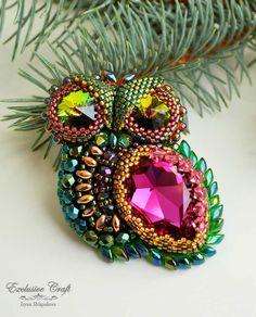 Owl brooch/pendant