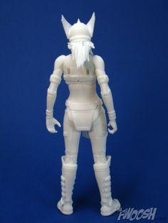 Custom 3d printed action figure, reviewed at The Swoosh  Printed through Shapeways: www.shapeways.com/shops/Strangefate