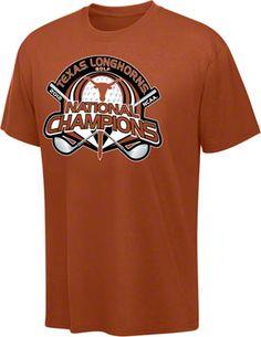 best website 4a482 68393 Texas Longhorns 2012 NCAA Golf Champions T-Shirt Texas Longhorns, Champs