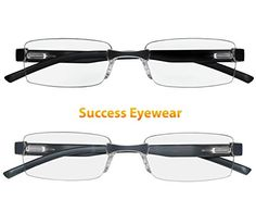 e661345c5da Amazon.com  Reading Glasses Set of 2 Rimless Ultra Lightweight Comfort Glasses  for Reading for Men and Women +1  Clothing