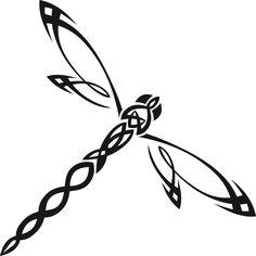 Insect Clip Art Transprent Png Free Line - Free Clip Art Dragonfly , Transparent Cartoon - Jing. Dragonfly Drawing, Dragonfly Tattoo Design, Dragonfly Art, Tattoo Designs, Dragonfly Tatoos, Dragonfly Images, Tribal Animal Tattoos, Tribal Animals, Celtic Animals