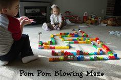 Pompom maze