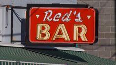Red's Bar - Missoula, Montana. Photograph by Robin Ritter