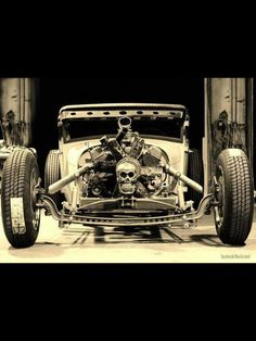 Chopped Ratrod - can we say munsters!