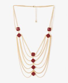 Bejeweled Chain Necklace | FOREVER21 - 1027706042