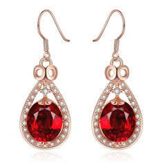PandaHall Earrings-----Classic Drop Brass Cubic Zirconia Dangle Earrings #PandaHall #Earrings #Zirconia #Dangle #jewelry