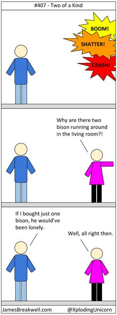 James Breakwell's Unbelievably Bad Webcomic: Two of a Kind