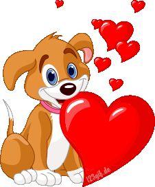 Valentine Cute Dog Cartoon Animal Images Are On A Transparent Background Smiley Emoji, Dog Emoji, Images Emoji, Emoji Pictures, Cute Dog Pictures, Cartoon Images, Love Smiley, Emoji Love, Animated Emoticons