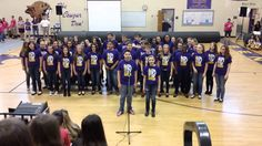 Some Nights, By Benton Middle School Chorus Middle School Choir, High School, Teaching Music, Teaching Tools, Teaching Resources, Choir Songs, Music Activities, Music Games, Elementary Music
