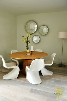 Grand Oak Flooring from Fowles Oak Dining Room, Floor Colors, Timber Flooring, Colours, Interior Design, Table, Inspiration, Furniture, Gallery