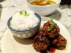 Asian Turkey Meatballs – dwardcooks