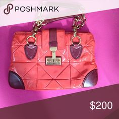 MJ patent leather quilted purse with chain strap Quilted patent leather shoulder bag Marc Jacobs Bags Shoulder Bags