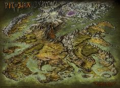 Hi, I'm glad that the guys at Game Salute allowed me to post this finished map. it's the final version of the map I created for the game Story Realms. It's the world of Storm Hollow, where all stor...
