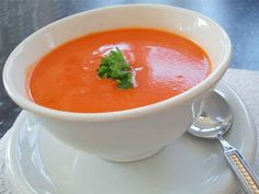 Sopa de tomate e cenoura | Homem na Cozinha