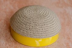 How to Crochet a Kippah by Genevieve Vand Wyden on eHow